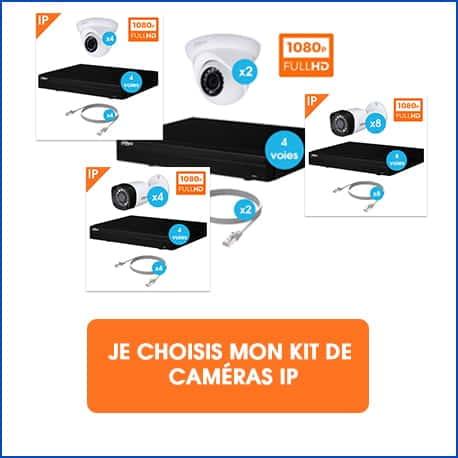 acheter kit caméras IP